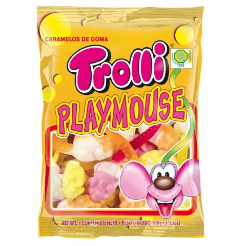 Mice Gummy Sweets Playmouse Trolli 200g